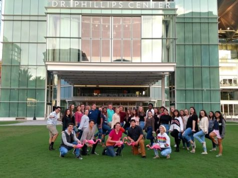 Brantley Students kick-start an Arts Career with the Dr. Phillips Center