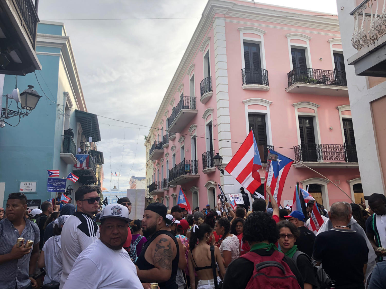 During Senior Anayansi Santiago's visit to Puerto Rico in July, residents of the island were mass protesting against then governor Ricky Rosello. Rosello ended up resigning, being replaced by two different governors, Pedro Pierluisi and then Wanda Vazquez.