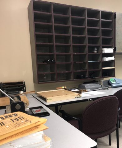 The students in Dr. Allan Knight's class was recently assigned to write formal letters. These letters were specifically written to a staff member of their choice, with the purpose of appreciating them and recognizing their actions on campus.