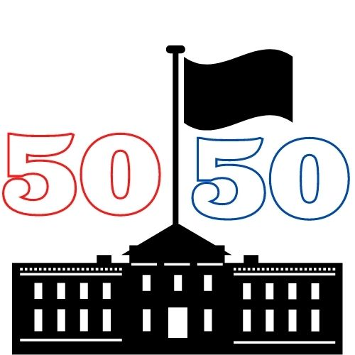 As a result of the 50/50 tie, the Democratic party will have control over the Presidency, the House for the next two years, and an upperhand in the Senate as there is no one majority leader.