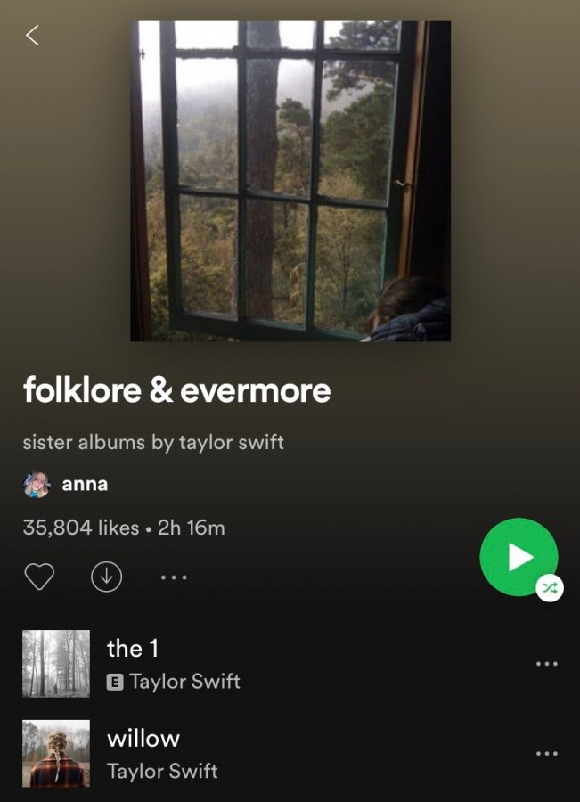 Taylor Swift's 8th album folklore was released on July 24. Its companion album evermore was released Dec. 11.