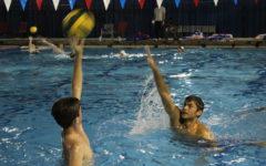 Pre-season Water Polo photo story