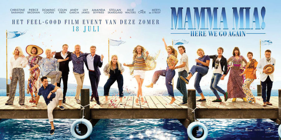 Mamma Mia! Here We Go Again was released on July 20, 2018.