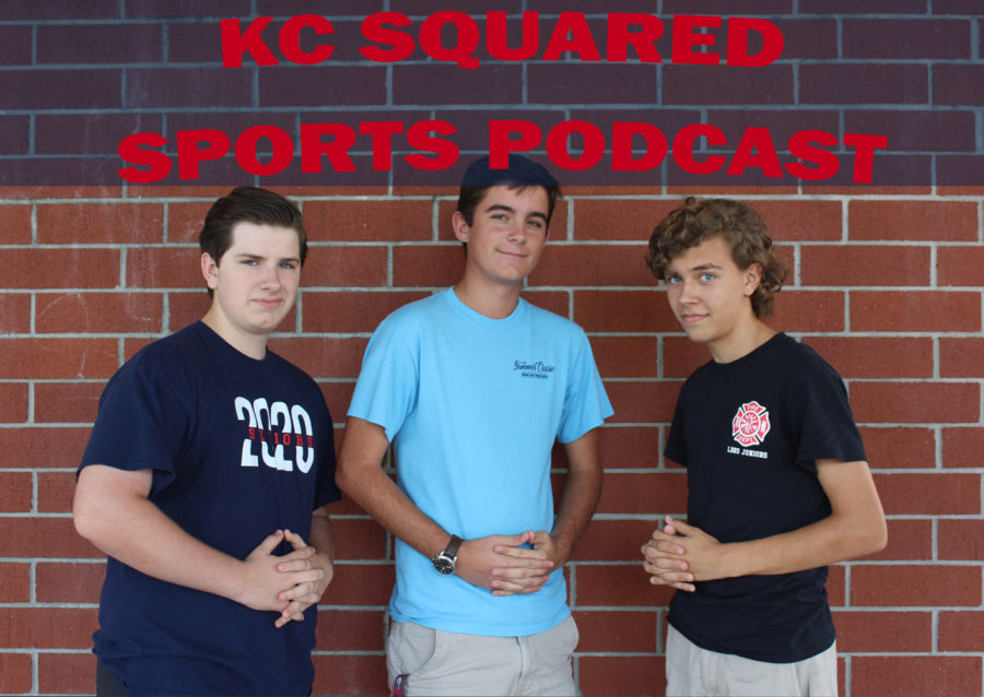 KC Squared podcast members include Keaton Johnson, Carson Cashion, and Carson Yore.
