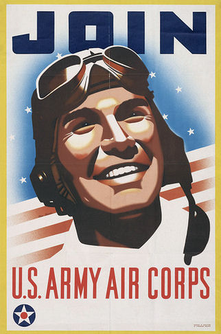 Army Air Corp recruiting poster, 1941