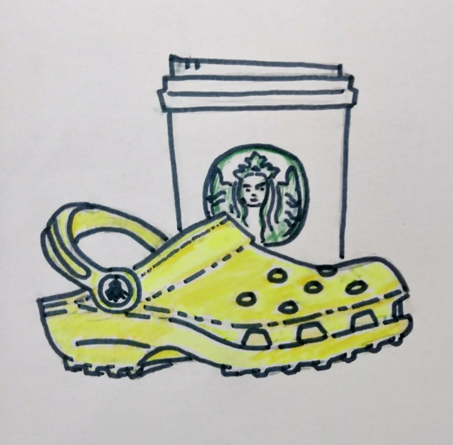 Starbucks+and+Crocs+are+donating+free+beverages+and+shoes+to+front-line+healthcare+workers.+