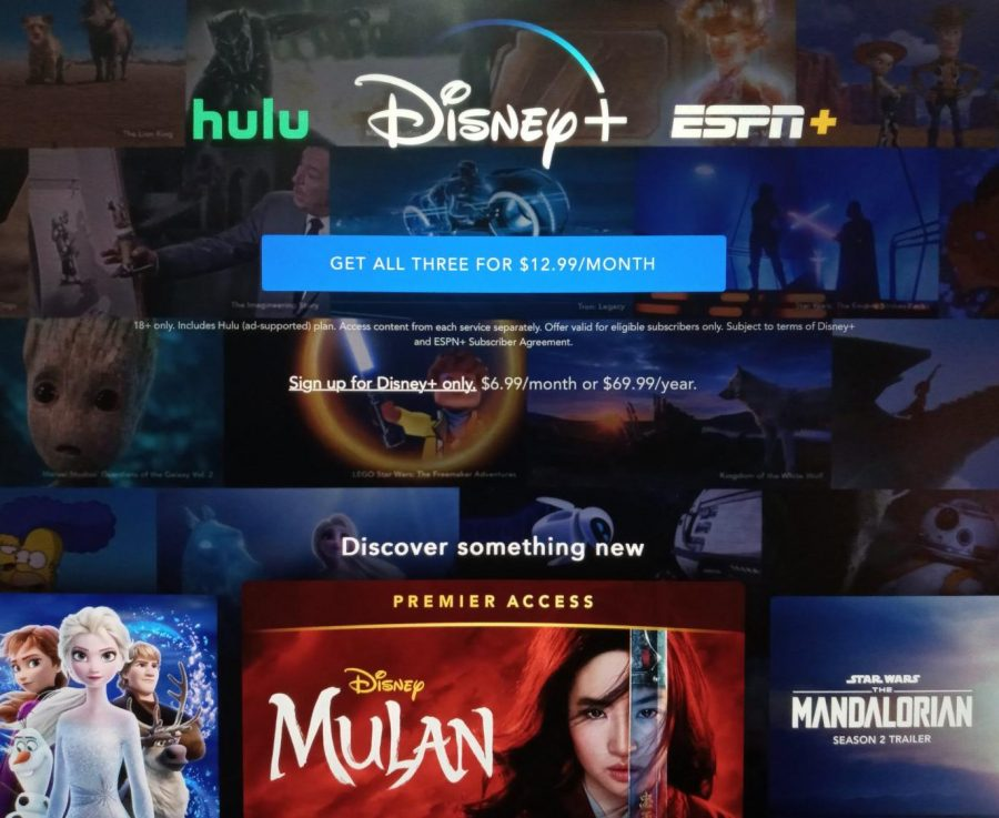 On Sep. 4, Disney's streaming service Disney+ lists