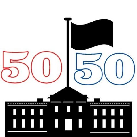 A 50/50 split