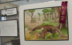 The 2021 Spring Art Show was located in the Community room from Tuesday m March 9, to Thursday, March 11. Pieces included 2D, 3D, Digital Art, Animation and AP Photography categories.
