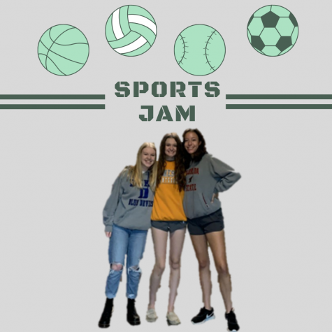 In the debut episode of Sports JAM, sophomores Julia Hubbell, Avery Ranum, and Makayla Martindale introduce themselves and dive into SuperBowl LV. Listen as these girls dance around the topic of the actual game, instead focusing on streakers, halftime, and Rob Gronkowski.